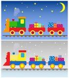 Trem do brinquedo imagem de stock