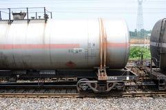Trem do caminhão de tanque do petróleo Imagem de Stock Royalty Free