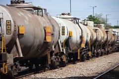 Trem do combustível Fotografia de Stock