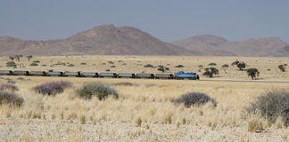 Trem do deserto Imagem de Stock Royalty Free
