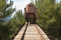 Trem do holocausto. fotografia de stock royalty free