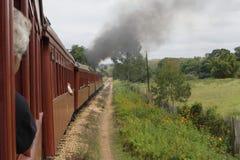 Trem do motor de vapor imagens de stock