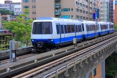 TREM DO MRT DE TAIPEI Fotografia de Stock
