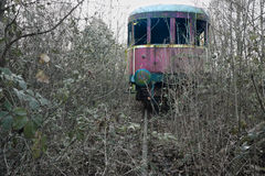 Trem do passado imagens de stock