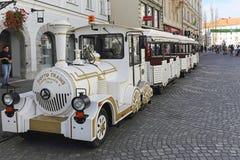 Trem do turista Fotografia de Stock Royalty Free