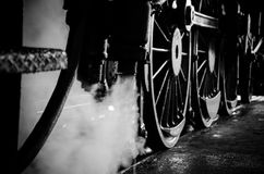 Trem do vapor Imagem de Stock Royalty Free