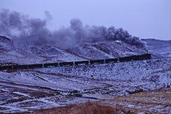 Trem do vapor Foto de Stock Royalty Free