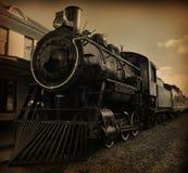 Trem do vapor Fotos de Stock