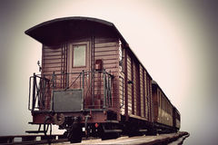 Trem do vintage fotografia de stock royalty free