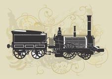 Trem do vintage Fotos de Stock Royalty Free