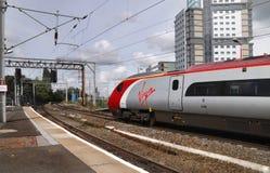 Trem do Virgin Imagens de Stock Royalty Free