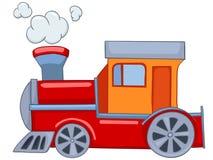 Trem dos desenhos animados Fotografia de Stock Royalty Free