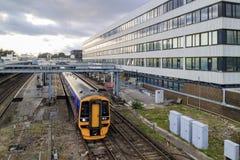 Trem e residente Fotos de Stock Royalty Free