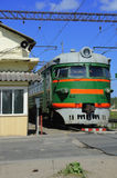 Trem elétrico Imagens de Stock Royalty Free
