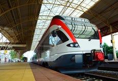 Trem elétrico Fotografia de Stock