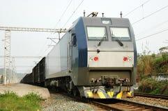Trem elétrico chinês Fotos de Stock Royalty Free