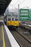 Trem elétrico de Sydney Fotografia de Stock