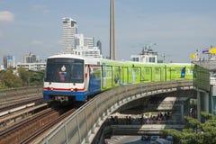 Trem em Banguecoque Fotografia de Stock