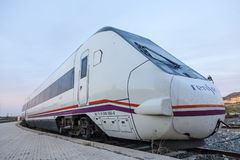 Trem em Cartagena, Espanha Imagens de Stock