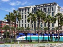 Trem em San Diego Fotografia de Stock