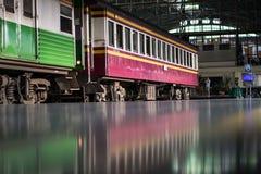 Trem em Tailândia Foto de Stock Royalty Free