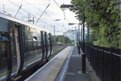 Trem em um trem Imagem de Stock