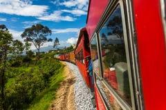Trem equatoriano foto de stock