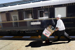 Trem expresso de oriente Fotos de Stock