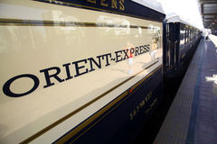 Trem expresso de oriente Fotografia de Stock Royalty Free