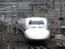 Trem expresso japonês Imagens de Stock