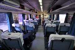 Trem indiano luxuoso Fotografia de Stock Royalty Free