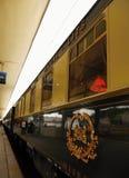 Trem inter luxuoso da cidade, Veneza - Praga Fotos de Stock Royalty Free