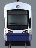 Trem leve do trilho ilustração stock