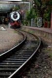 Trem locomotivo do vapor do vintage Foto de Stock