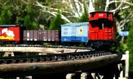 Trem modelo Foto de Stock Royalty Free
