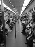 Trem monocromático Fotos de Stock Royalty Free