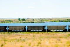 Trem movente Foto de Stock Royalty Free