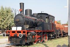 Trem movente do vintage Fotos de Stock