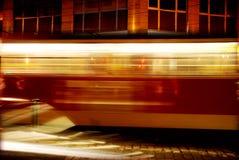 Trem movente rápido Foto de Stock Royalty Free