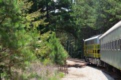 Trem na montanha de pedra Imagens de Stock Royalty Free