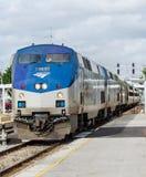Trem Orlando do meteoro da prata de Amtrak Imagens de Stock
