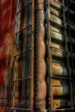 Trem oxidado fotografia de stock royalty free
