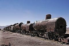 Trem oxidado velho Foto de Stock