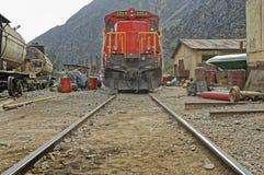 Trem, peru Foto de Stock