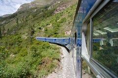 Trem - Peru foto de stock