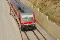 Trem que viaja em Baviera Imagens de Stock