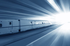 Trem rápido Imagem de Stock Royalty Free