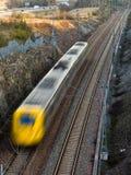 Trem rápido Fotografia de Stock Royalty Free
