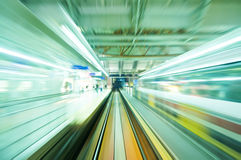 Trem rápido Imagens de Stock Royalty Free