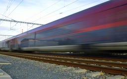Trem rápido Foto de Stock Royalty Free